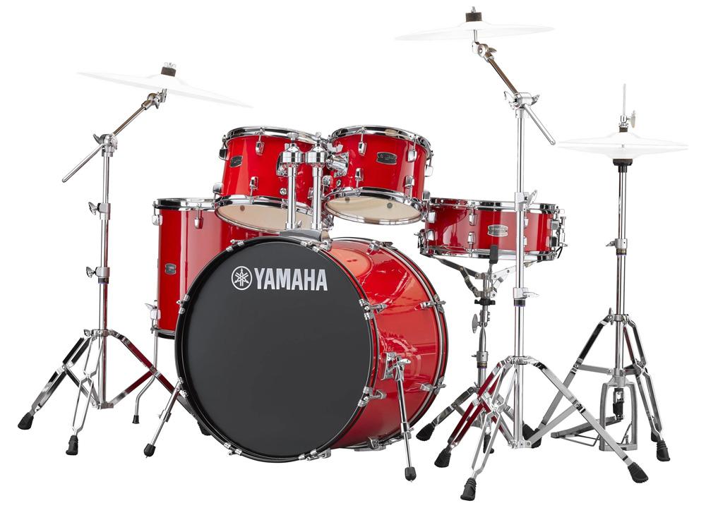 YAMAHA / RDP2F5 RDホットレッド ライディーン 22BD ドラムシェルとハードウェアセット / シンバル別売【YRK】