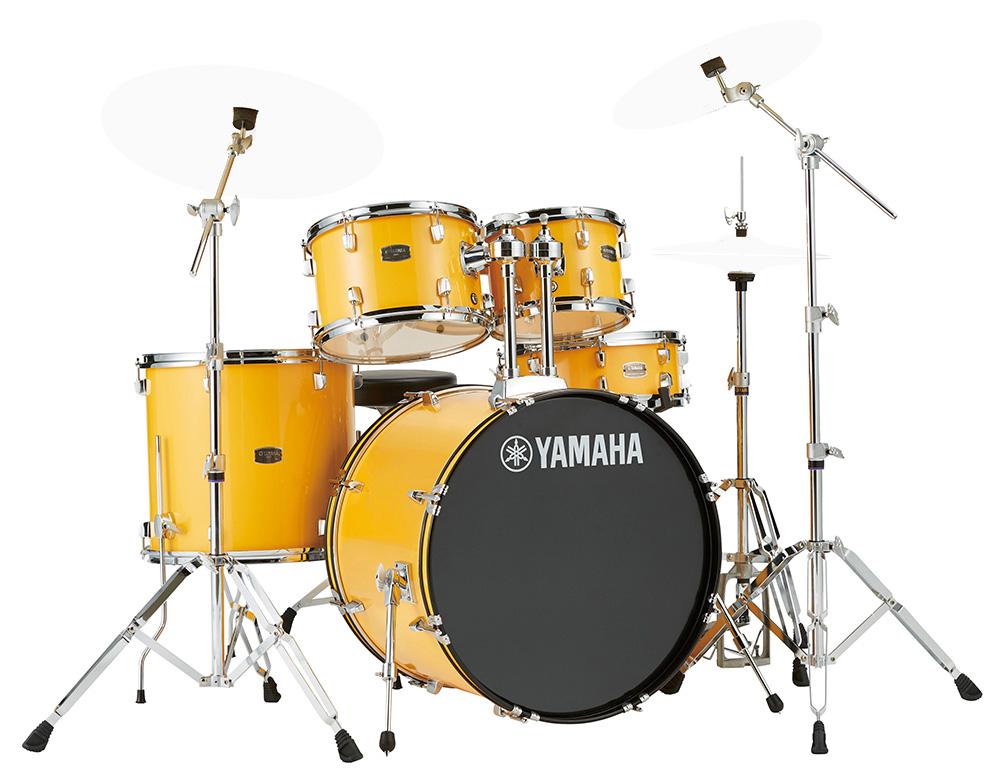 YAMAHA / RDP2F5 YLメローイエロー ライディーン 22BD ドラムシェルとハードウェアセット / シンバル別売【YRK】