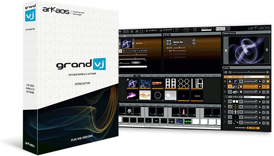 ArKaos アルカオス / GrandVJ 2 ビデオミックスソフトウェア【お取り寄せ商品】