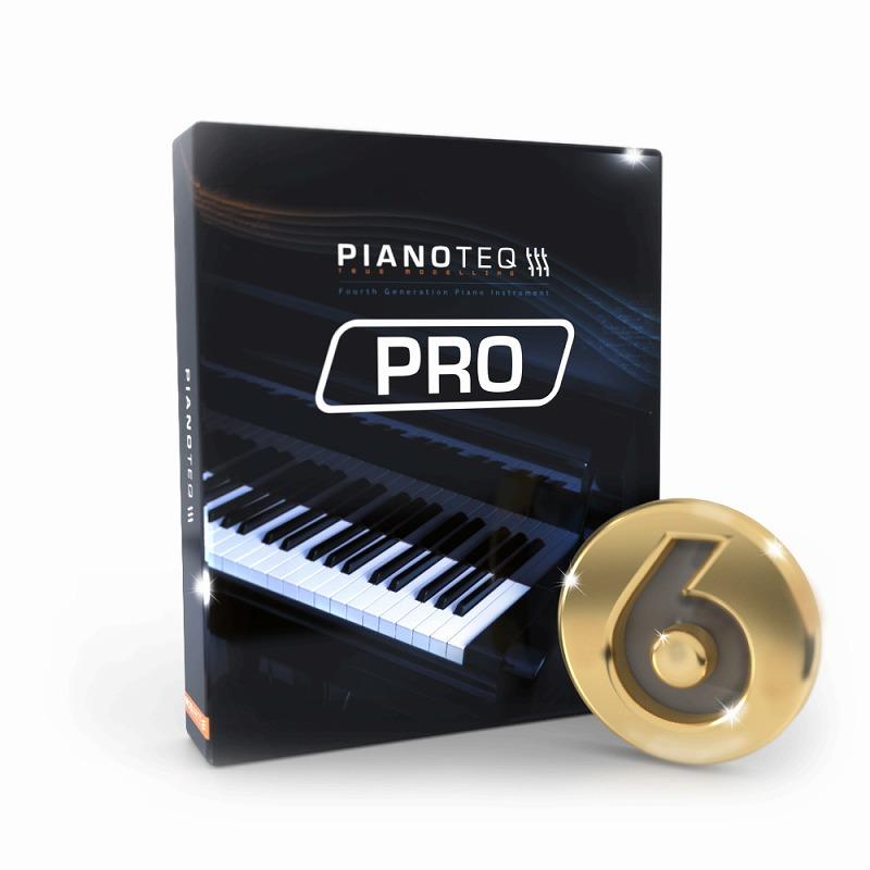 Modartt モダート / Pianoteq 6 PRO ピアノ音源【お取り寄せ商品】