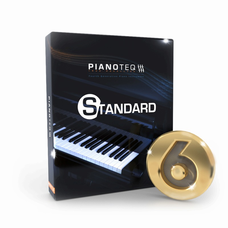 Modartt モダート / Pianoteq 6 Standard ピアノ音源【お取り寄せ商品】
