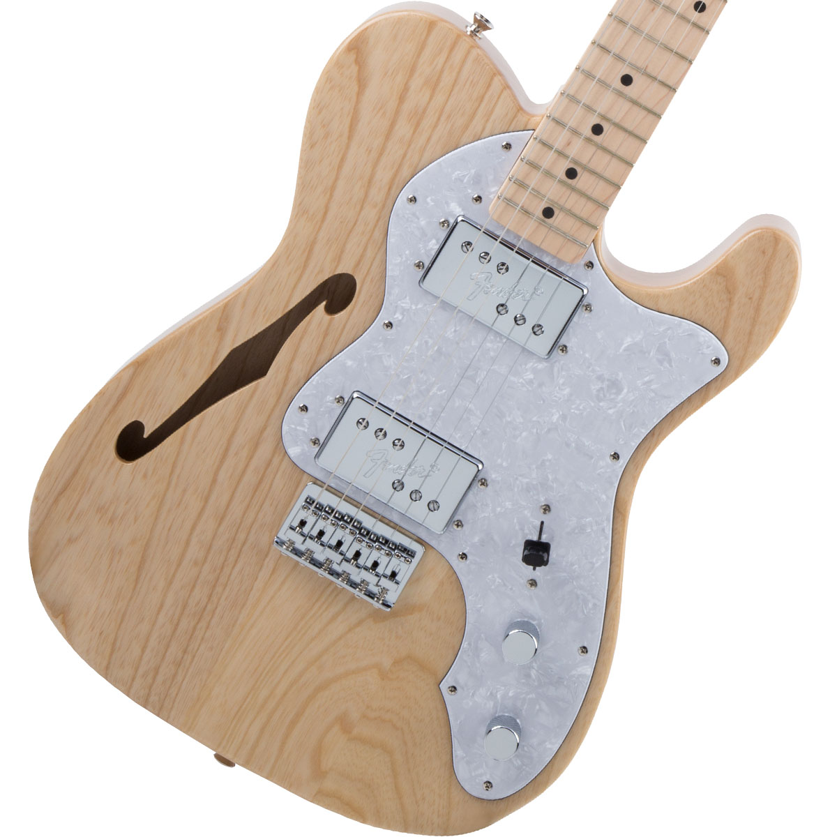 Fender / Made in Japan Traditional 70s Telecaster Thinline Maple Fingerboard Natural 《カスタムショップのお手入れ用品を進呈/+671038200》