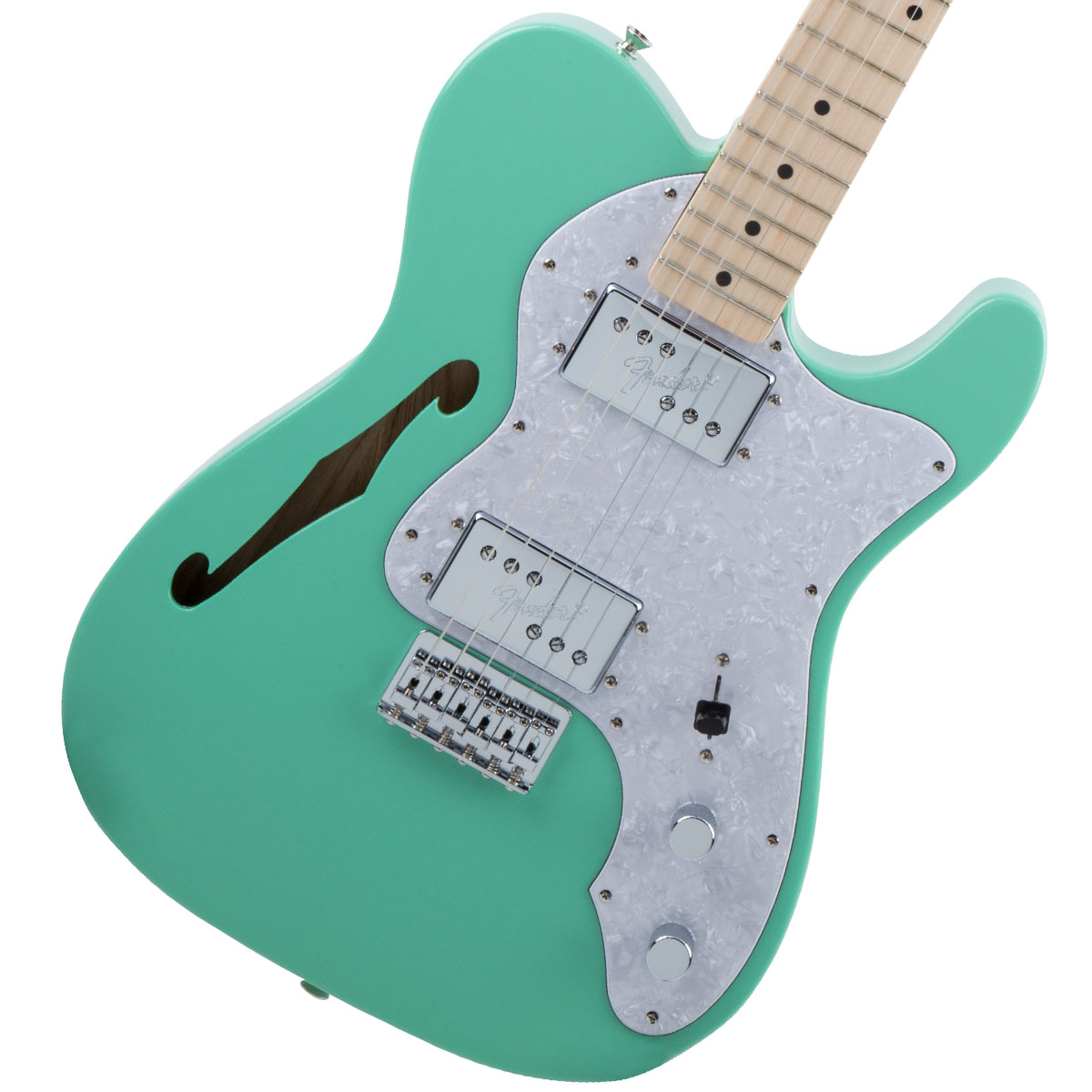 Fender / Made in Japan Traditional 70s Telecaster Thinline Maple Fingerboard Surf Green 《カスタムショップのお手入れ用品を進呈/+671038200》