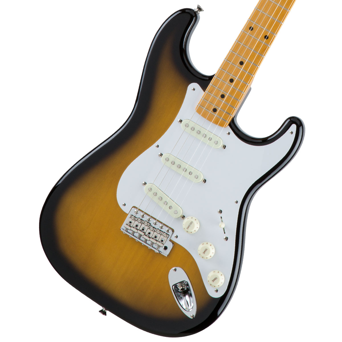 Fender / Made in Japan Traditional 50s Stratocaster Maple Fingerboard 2-Color Sunburst 【お取り寄せ商品】《カスタムショップのお手入れ用品を進呈/+671038200》