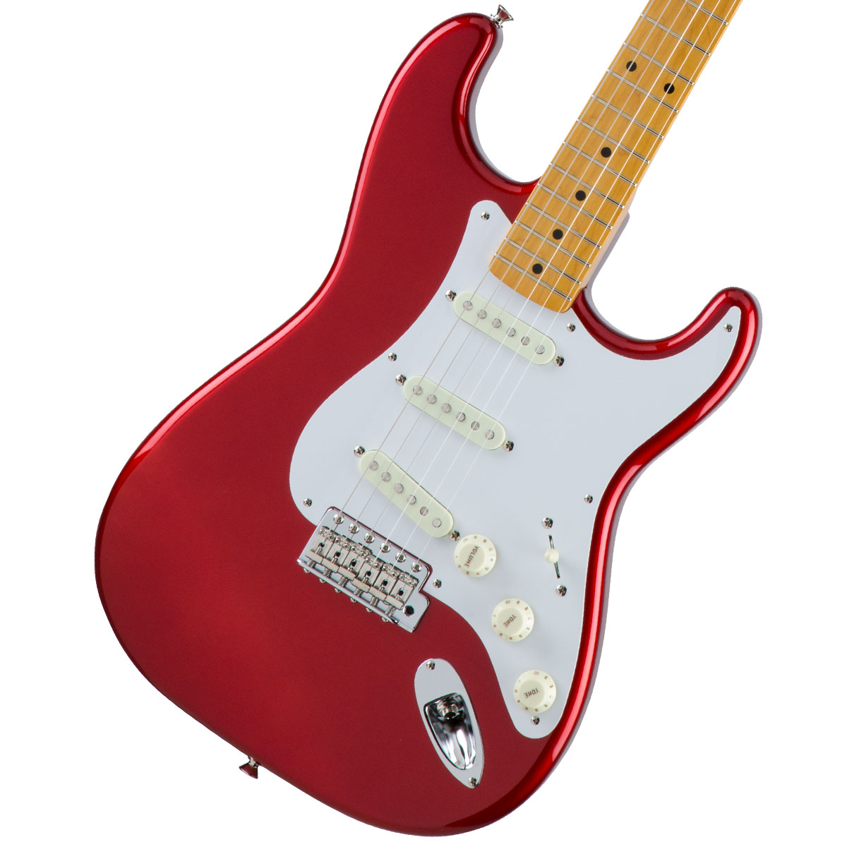 Fender / Made in Japan Traditional 50s Stratocaster Maple Fingerboard Candy Apple Red 【お取り寄せ商品】《カスタムショップのお手入れ用品を進呈/+671038200》