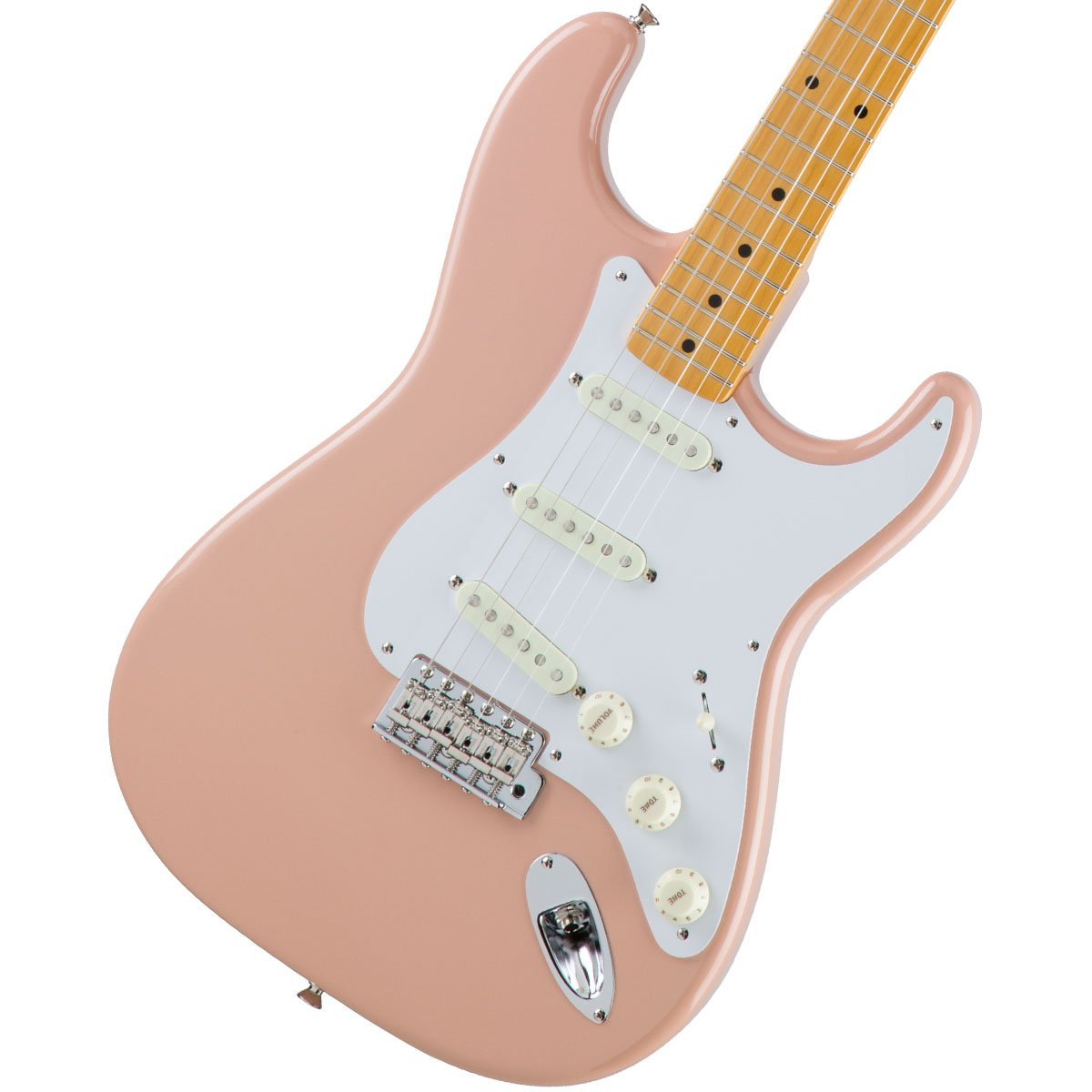 Fender / Made in Japan Traditional 58 Stratocaster Maple Fingerboard Flamingo Pink 【お取り寄せ商品】《カスタムショップのお手入れ用品を進呈/+671038200》
