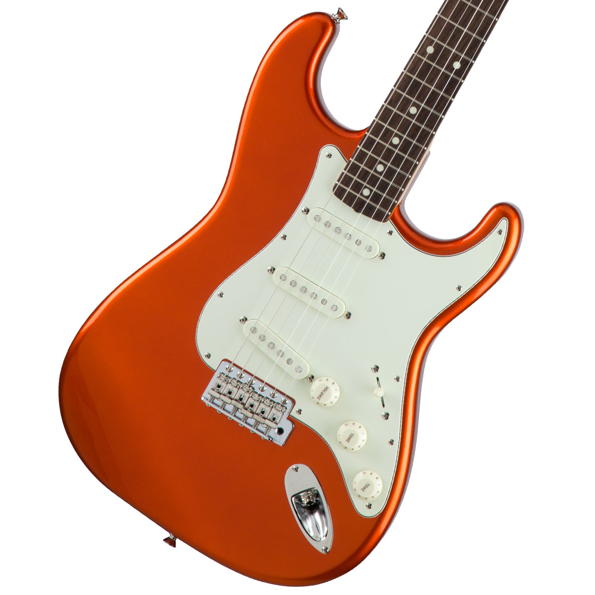 Fender / Made in Japan Traditional 60s Stratocaster Rosewood Fingerboard Candy Tangerine 《カスタムショップのお手入れ用品を進呈/+671038200》【YRK】