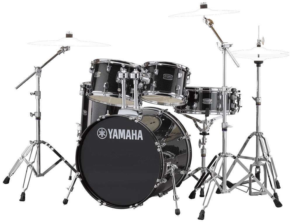 YAMAHA / RDP0F5 BLGブラックグリッター ライディーン 20BD ドラムシェルとハードウェアセット / シンバル別売【YRK】