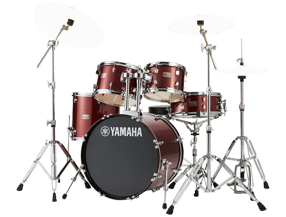 YAMAHA / RDP0F5 BGGバーガンディグリッター ライディーン 20BD ドラムシェルとハードウェアセット / シンバル別売【YRK】