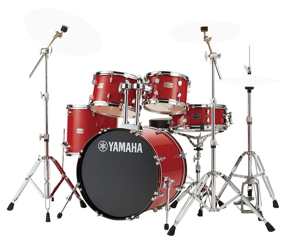 YAMAHA / RDP0F5 RDホットレッド ライディーン 20BD ドラムシェルとハードウェアセット / シンバル別売【YRK】