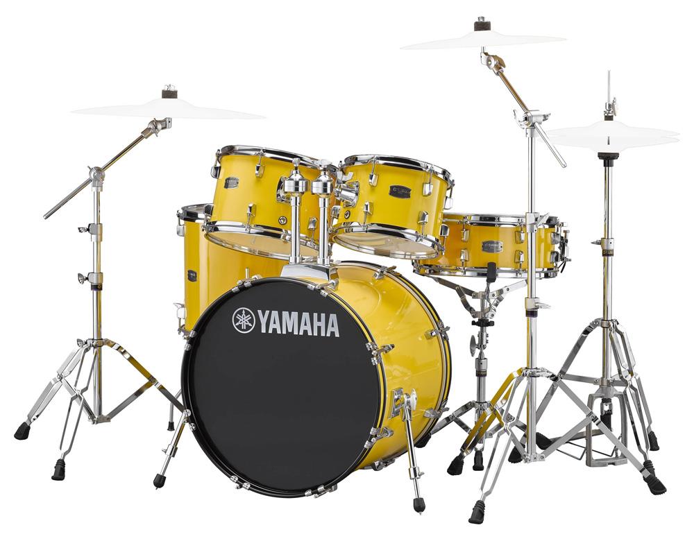 YAMAHA / RDP0F5 YLメローイエロー ライディーン 20BD ドラムシェルとハードウェアセット / シンバル別売【YRK】