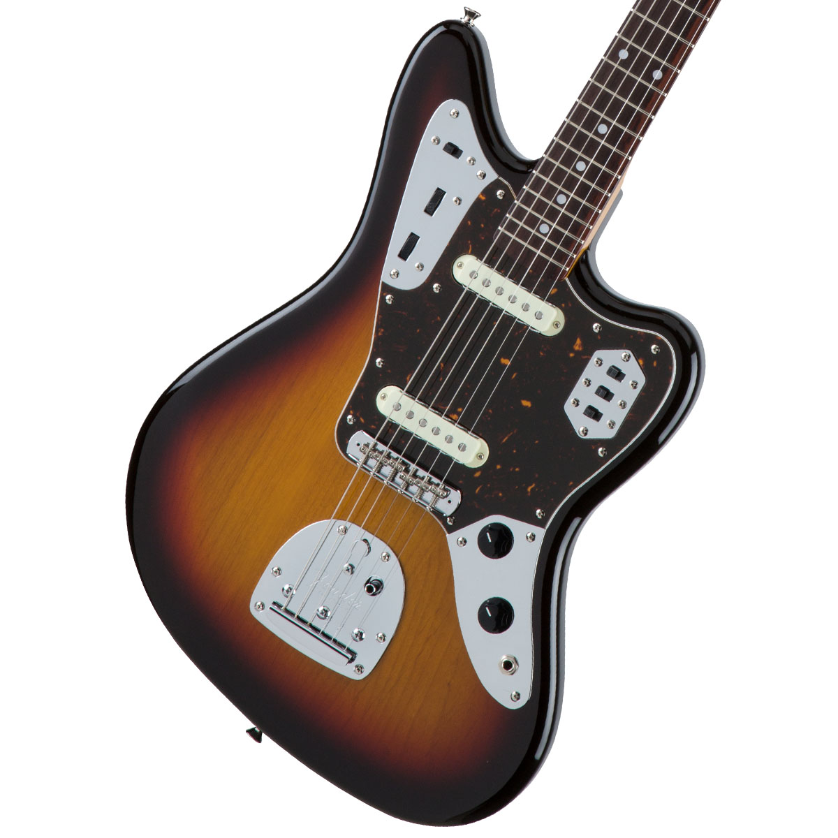Fender / Made in Japan Traditional 60s Jaguar Rosewood Fingerboard 3-Color Sunburst 【お取り寄せ商品】《カスタムショップのお手入れ用品を進呈/+671038200》