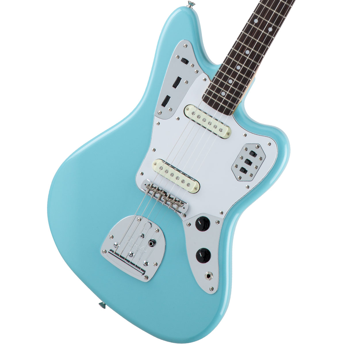 Fender / Made in Japan Traditional 60s Jaguar Rosewood Fingerboard Daphne Blue 【お取り寄せ商品】《カスタムショップのお手入れ用品を進呈/+671038200》