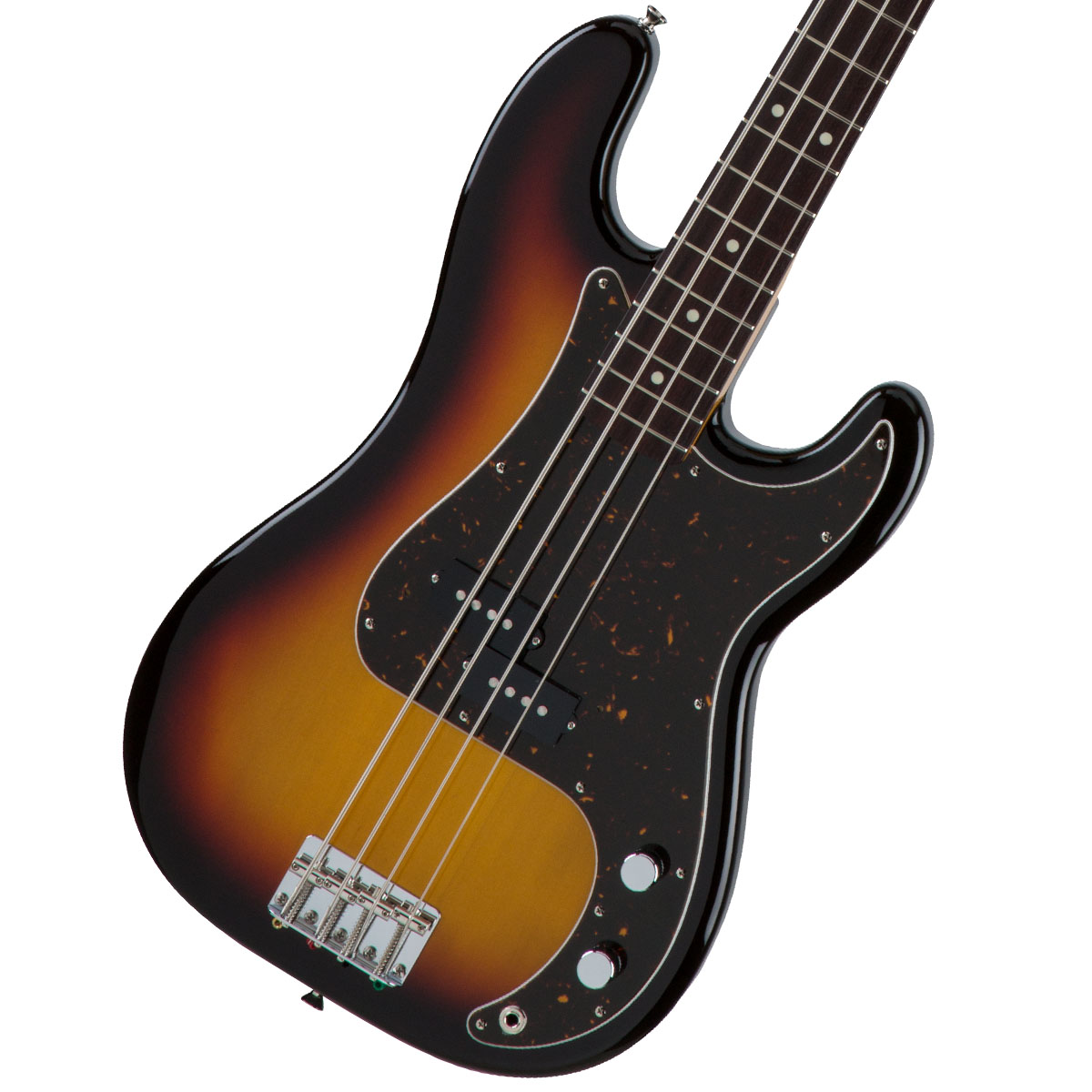 Fender / Made in Japan Traditional 60s Precision Bass Rosewood Fingerboard 3-Color Sunburst 【お取り寄せ商品】《FENDERケアキットプレゼント/+671038200》《ベース弦1setプレゼント!/+811131900》
