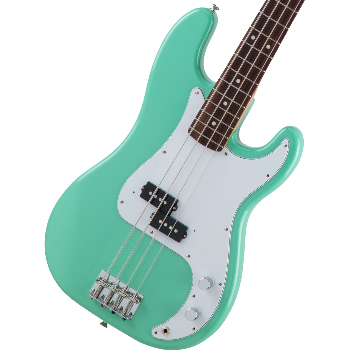 Fender / Made in Japan Traditional 60s Precision Bass Rosewood Fingerboard Surf Green 【お取り寄せ商品】《FENDERケアキットプレゼント/+671038200》《ベース弦1setプレゼント!/+811131900》