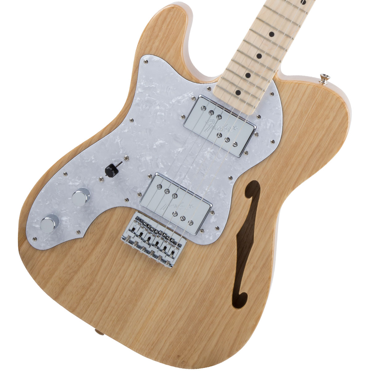 Fender / Made in Japan Traditional 70s Telecaster Thinline Left-Hand Natural 【お取り寄せ商品】《カスタムショップのお手入れ用品を進呈/+671038200》