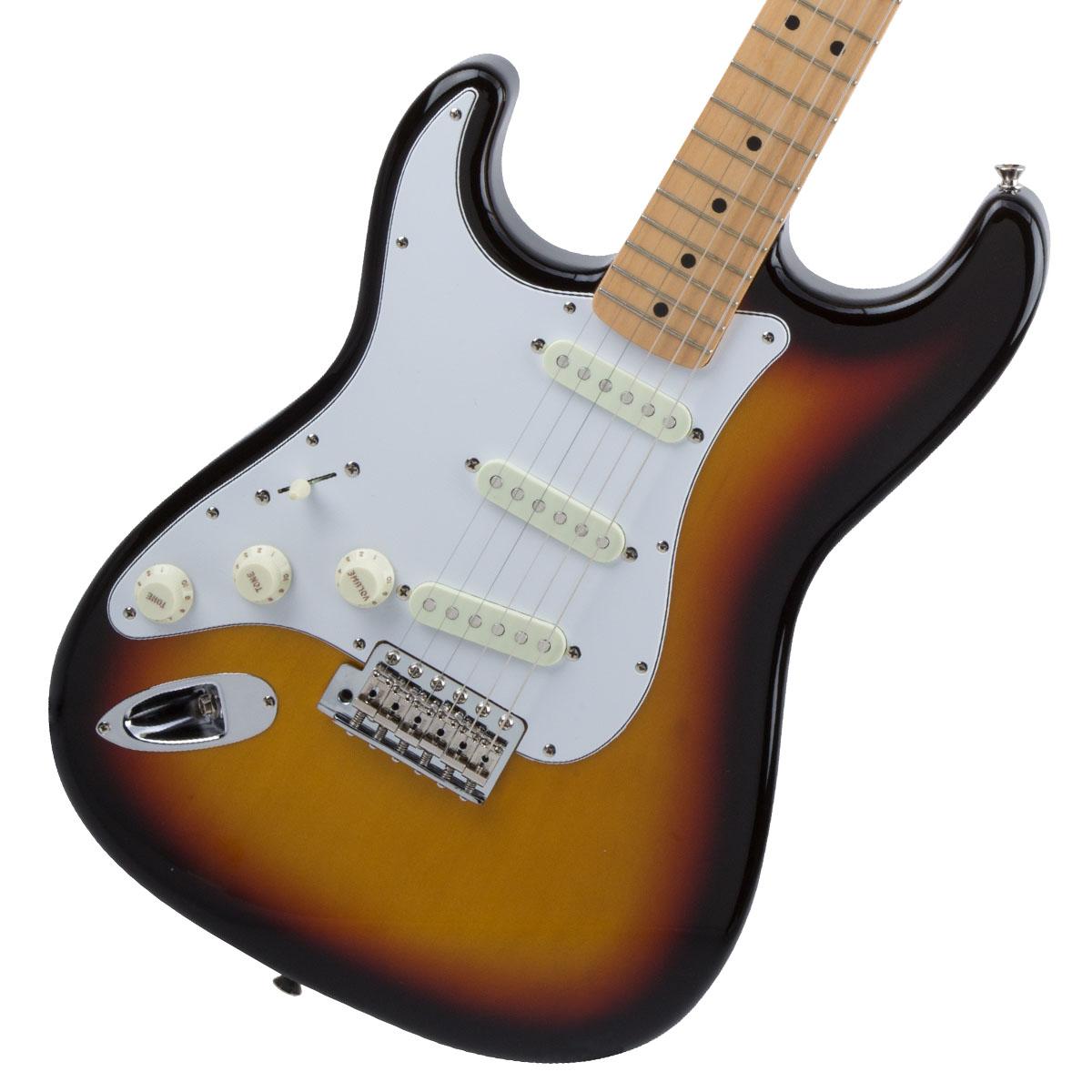 Fender / Made in Japan Traditional 68s Stratocaster Left-Hand 3-Color Sunburst 左利き用【お取り寄せ商品】《カスタムショップのお手入れ用品を進呈/+671038200》
