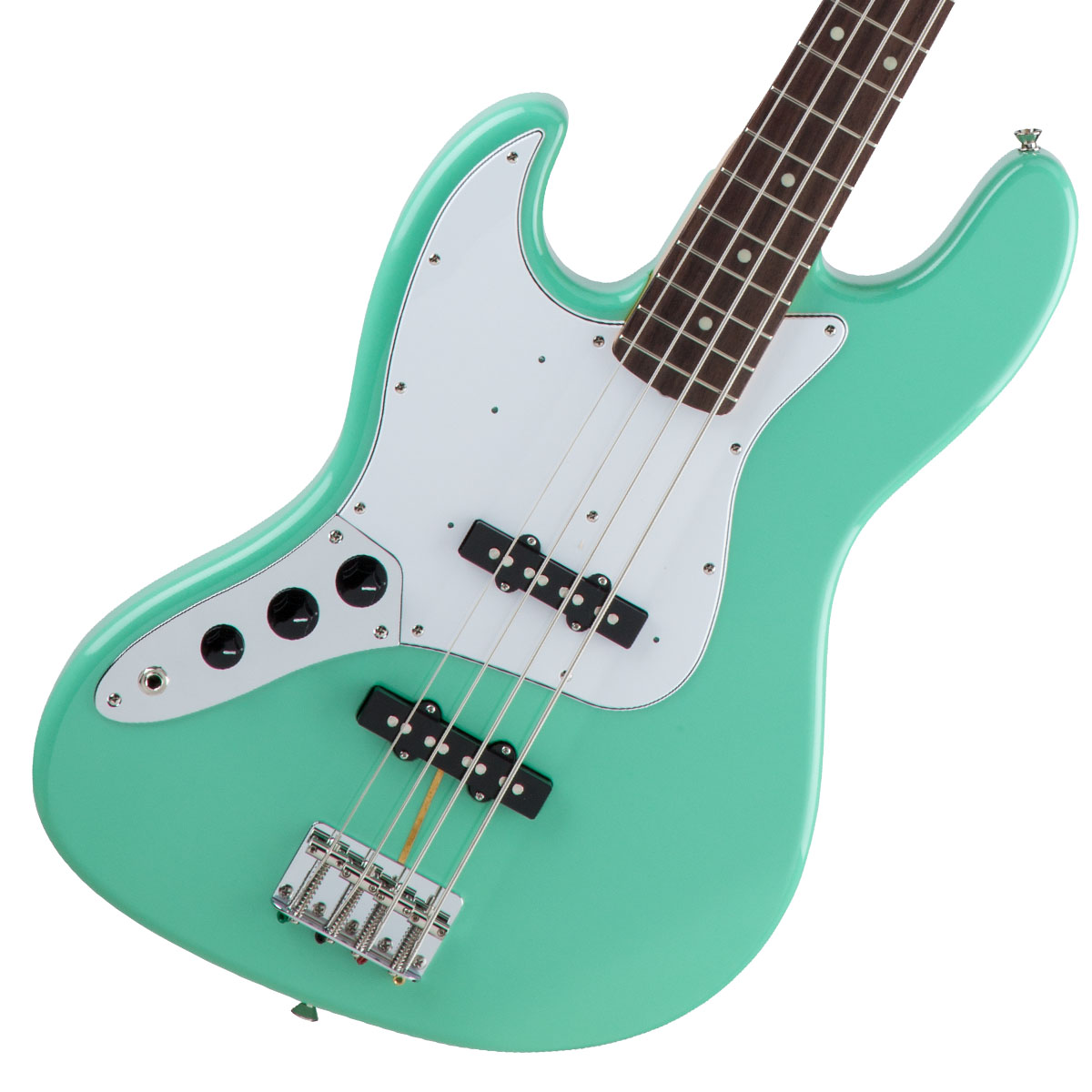 Fender / Made in Japan Traditional 60s Jazz Bass Left-Hand Surf Green 左利き用 【お取り寄せ商品】《FENDERケアキットプレゼント/+671038200》《ベース弦1setプレゼント!/+811131900》