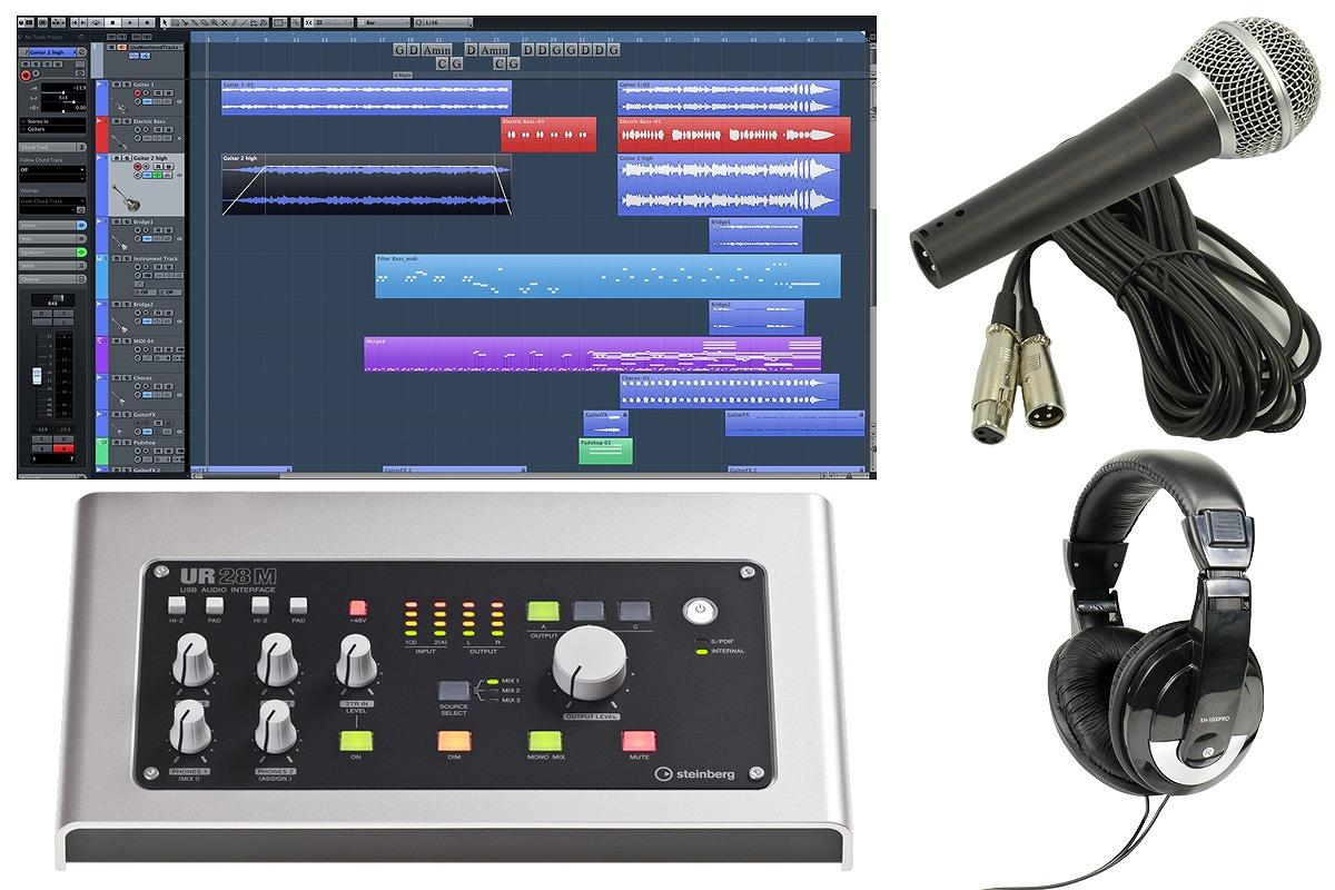 steinberg スタインバーグ / UR28M USB2.0オーディオインターフェース 【スタートセット!】