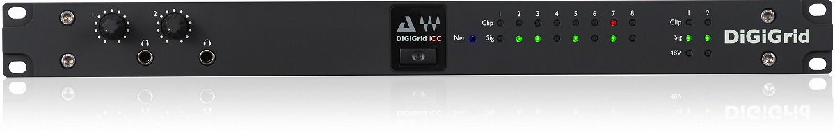DiGiGrid デジグリッド / IOC Control Room I/O for SoundGrid Systems 【お取り寄せ商品】