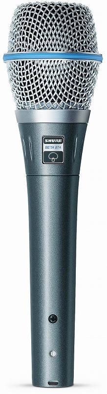 SHURE シュア / BETA87A-X コンデンサー型ボーカル・マイクロホン【お取り寄せ商品】