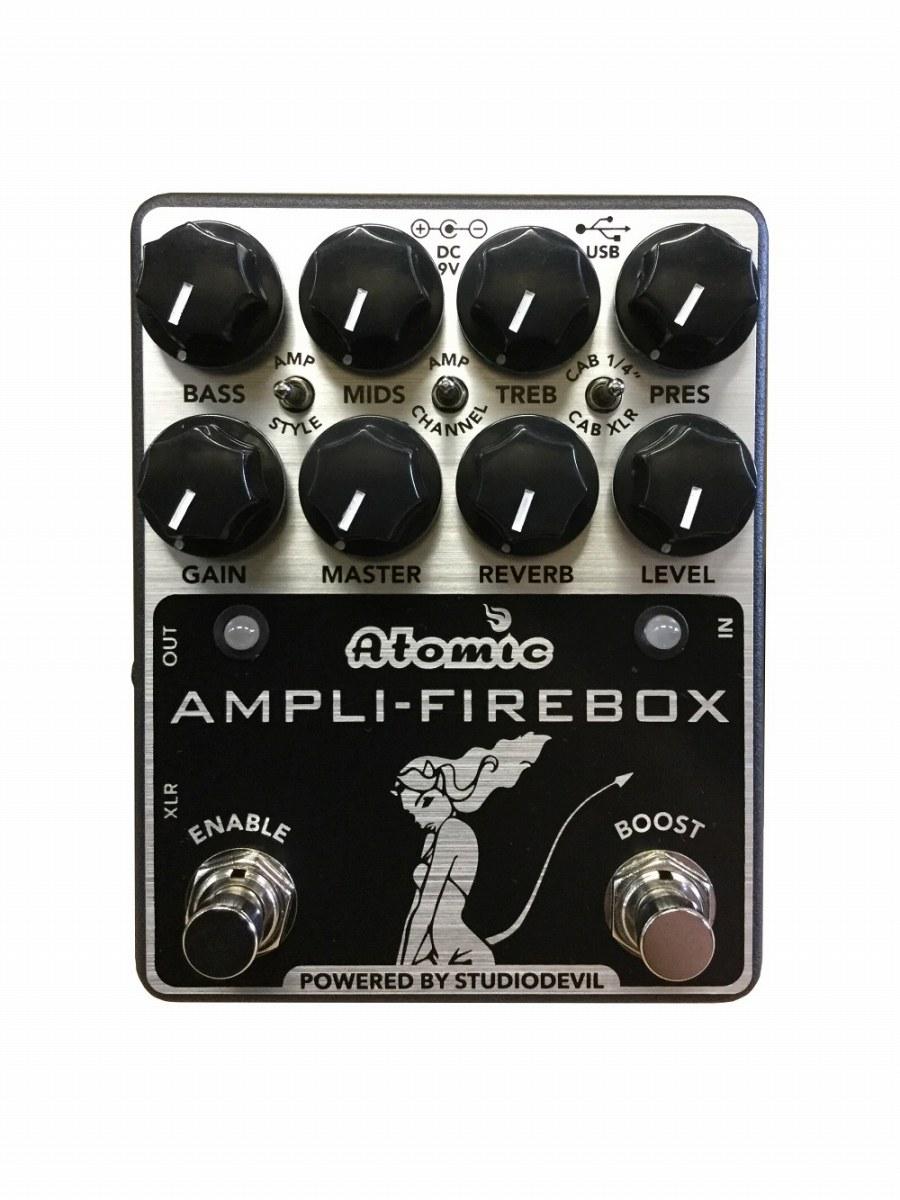 ATOMIC / Ampli-Firebox アトミック マルチエフェクター 【お取り寄せ商品】