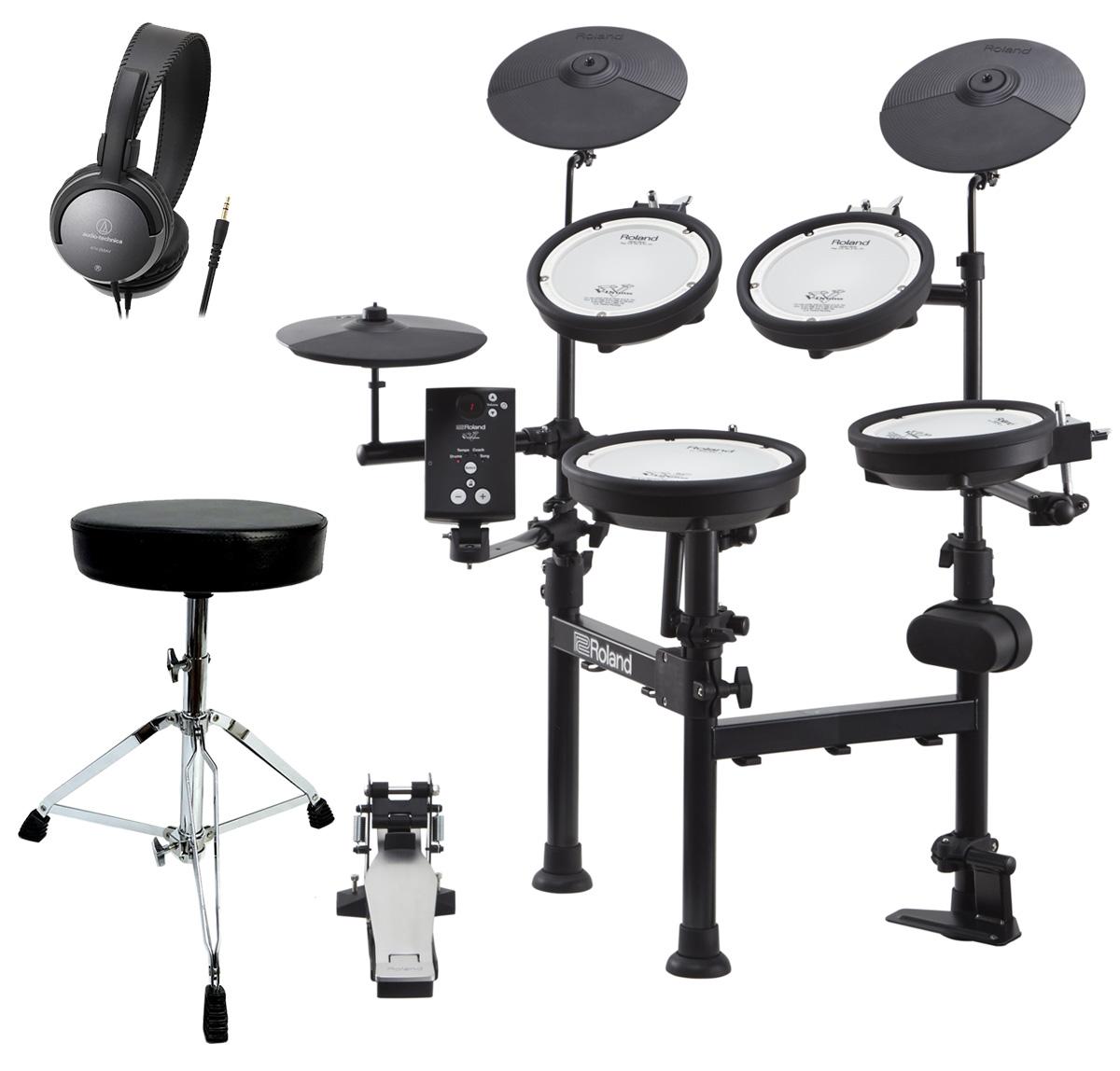 Roland 電子ドラム TD-1KPX2 ドラムスローンとヘッドホンセット / キックペダル別売【YRK】【5000円キャッシュバックWキャンペーン対象商品】
