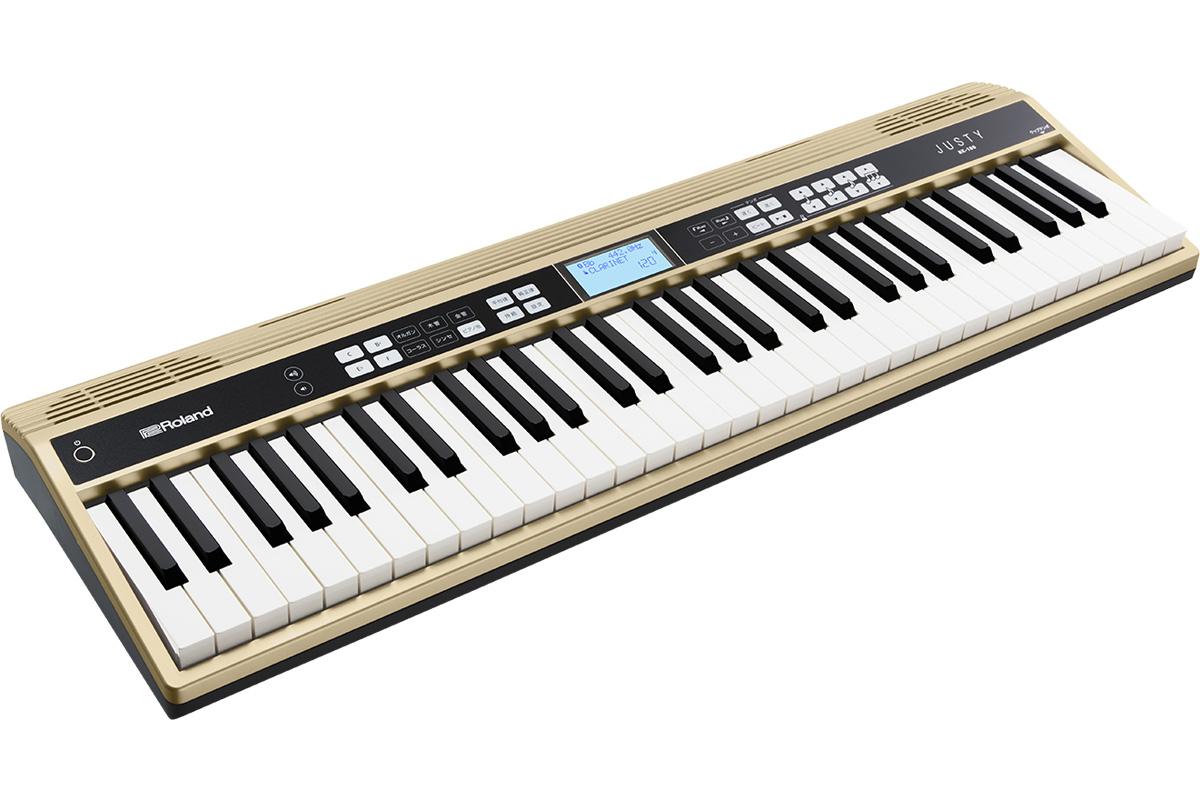 Roland ローランド / JUSTY HK-100 ハーモニー&リズム練習用キーボード【YRK】