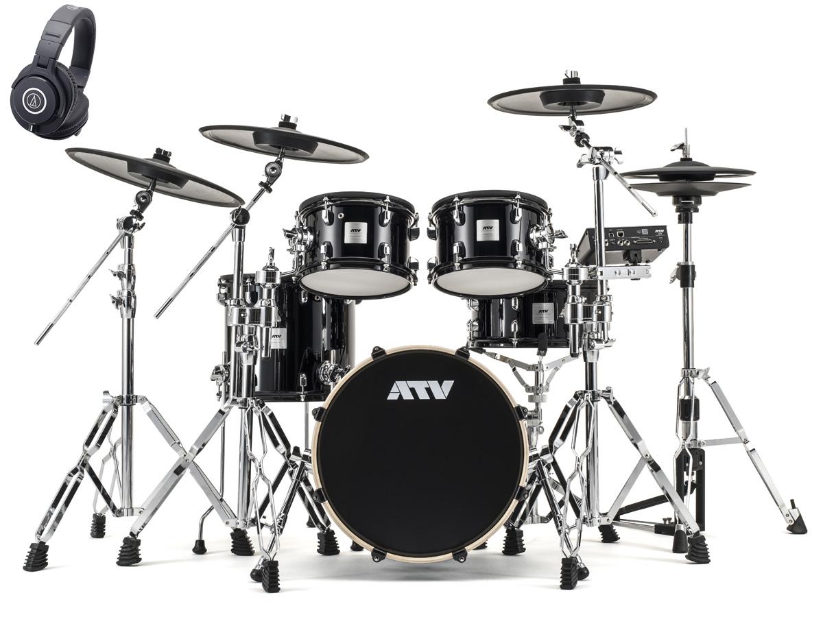 ATV / aDrums artist Expanded Set ADA-EXPSET ハイハットスタンドとモニターヘッドホンセット