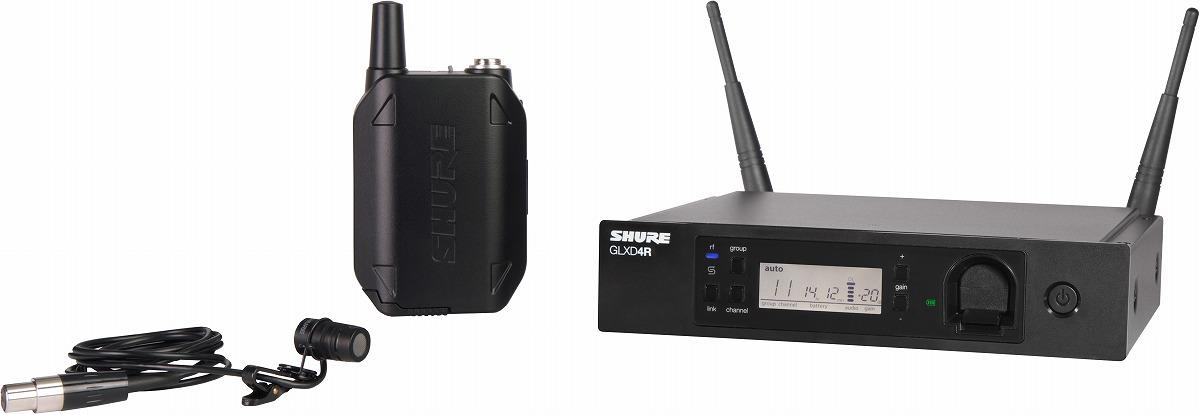 SHURE シュア / GLXD14R/85 ラべリアワイヤレスシステム【メーカー受注発注商品】