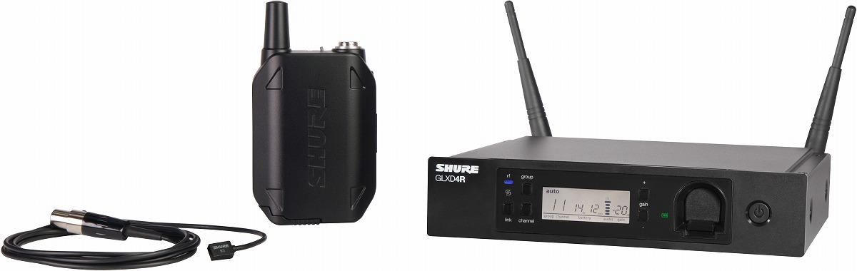 SHURE シュア / GLXD14R/WL93 ラべリアワイヤレスシステム【メーカー受注発注商品】