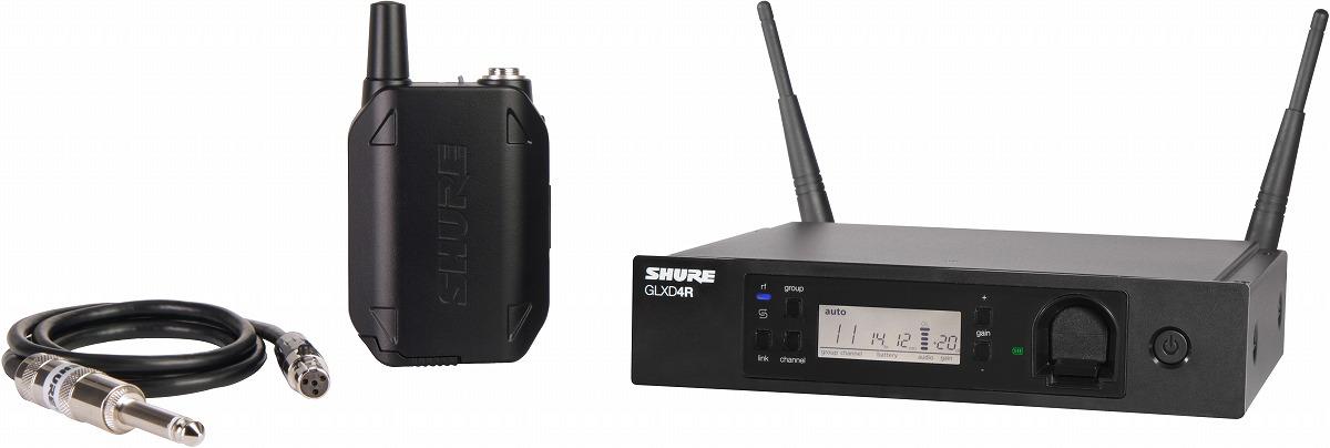 SHURE シュア / GLXD14R ギターワイヤレスシステム【メーカー受注発注商品】