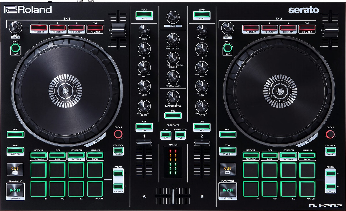 Roland ローランド / AIRA DJ-202 Serato DJ用 DJコントローラー【お取り寄せ商品】