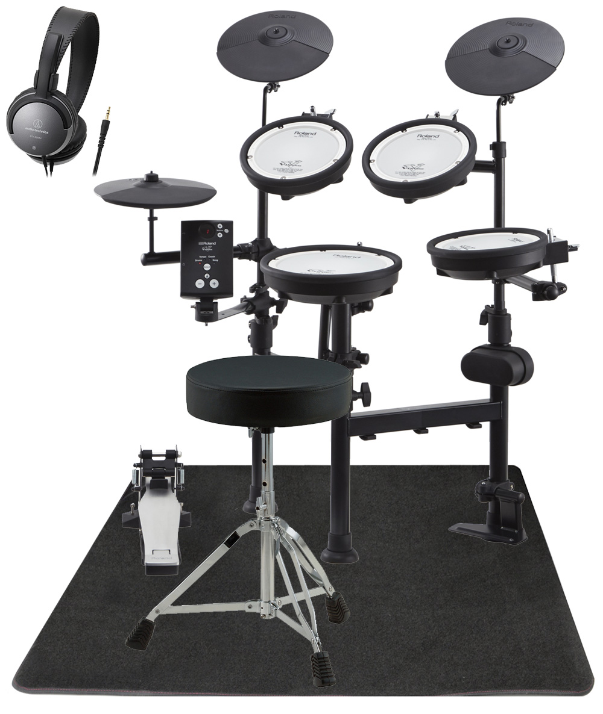 Roland 電子ドラム TD-1KPX2 イシバシオリジナル・イスとマットセット【YRK】