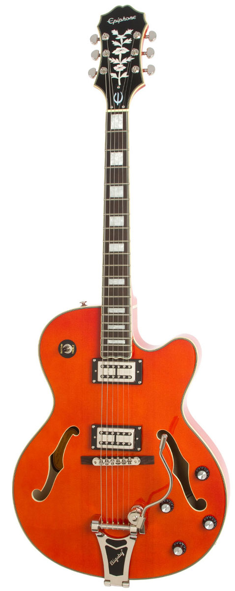 Epiphone / Emperor Swingster Orange