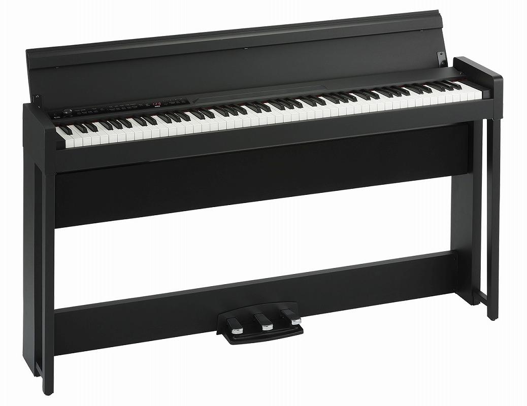 KORG コルグ / C1 Air BK (ブラック) デジタル・ピアノ【YRK】【お手入れセットプレゼント!】