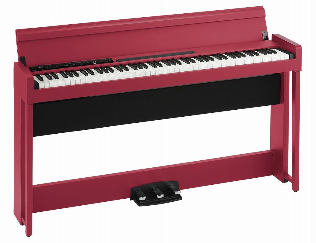 KORG コルグ / C1 Air RD (レッド) デジタル・ピアノ【お手入れセットプレゼント!】【YRK】