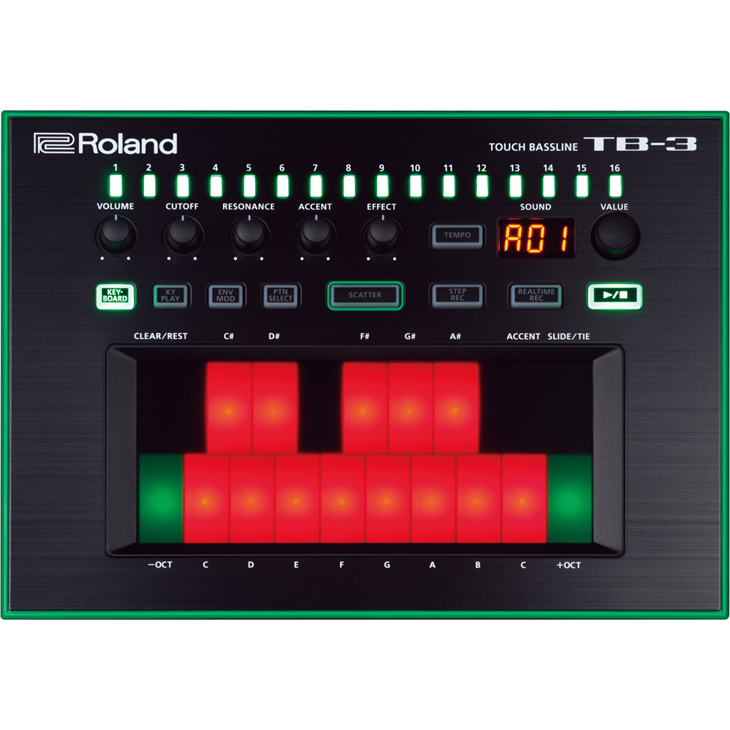 Roland ローランド / TB-3 Touch Bassline ベースシンセサイザー AIRA (TB3)
