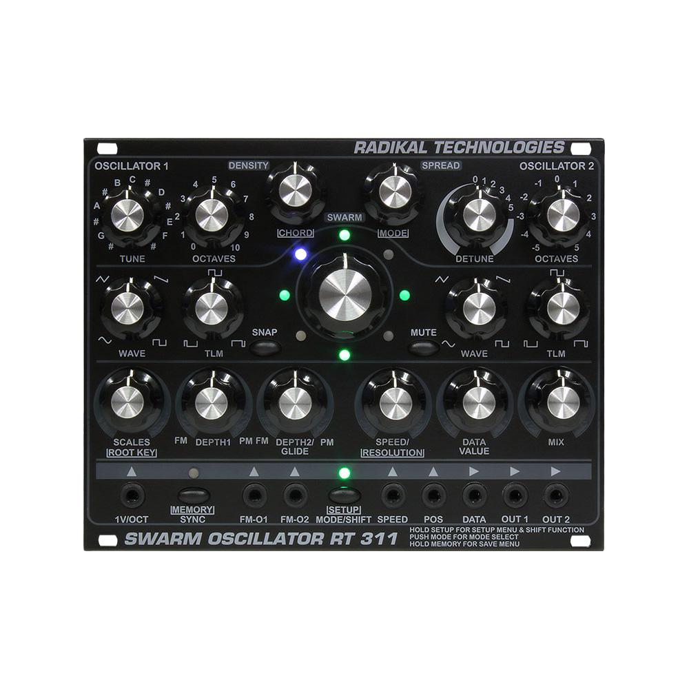 Radikal Technologies / RT-311 Swarm Oscillator デュアル・デジタル・オシレーター【お取り寄せ商品】