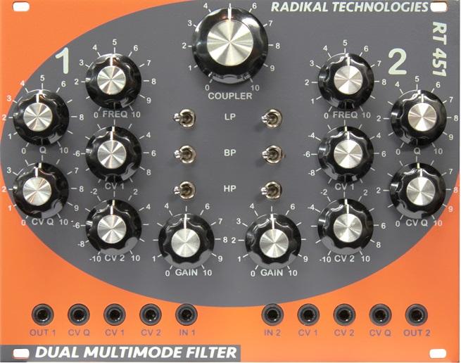 Radikal Technologies / RT-451 Dual Multimode Filter デュアル・マルチモード・フィルター【お取り寄せ商品】