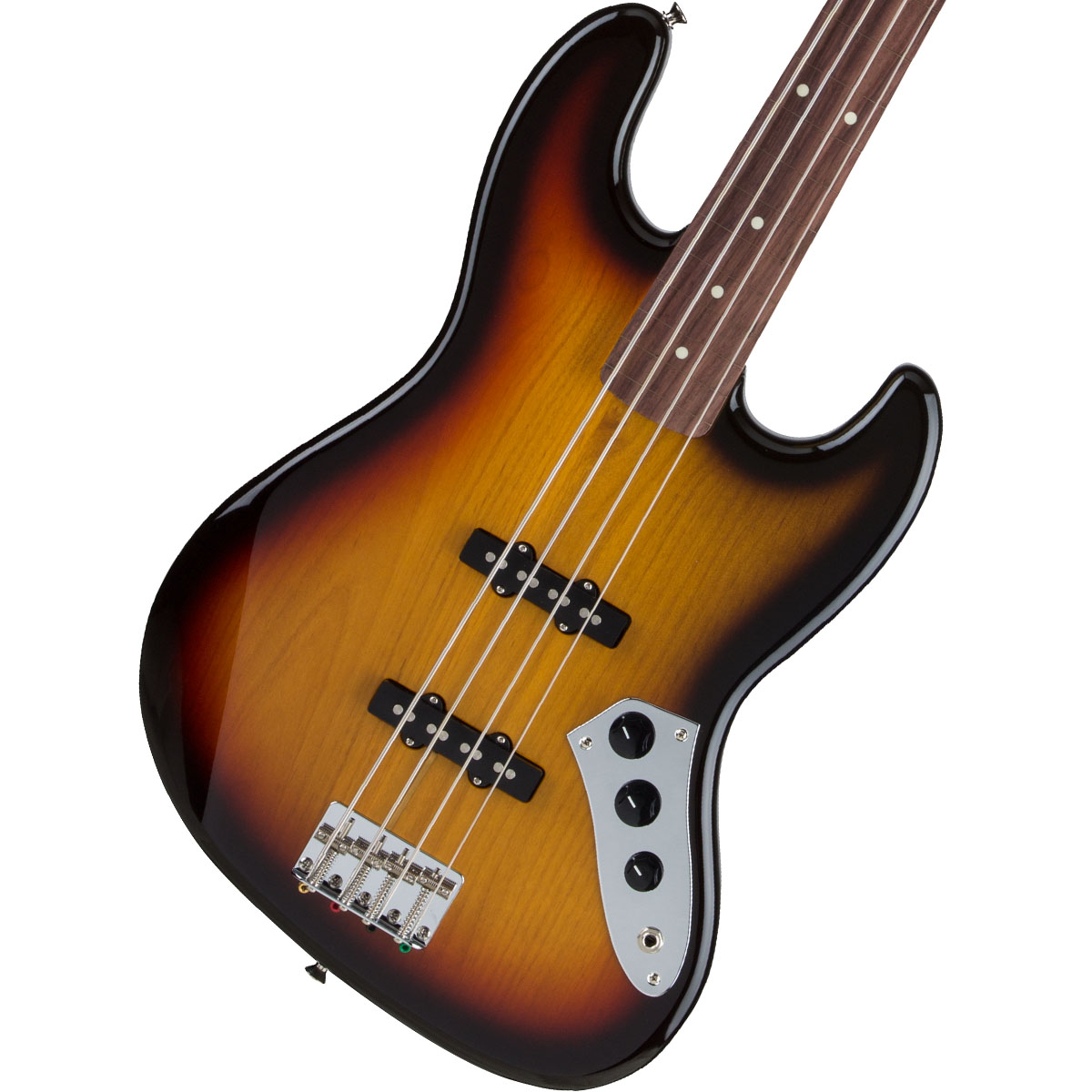 Fender / Made in Japan Traditional 60s Jazz Bass Fretless 3-Color Sunburst 【お取り寄せ商品】《FENDERケアキットプレゼント/+671038200》《ベース弦1setプレゼント!/+811131900》