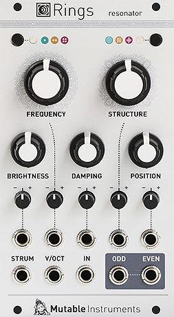 Mutable Instruments / Rings レゾネーター・モジュール【お取り寄せ商品】
