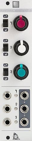 Mutable Instruments / Shades 3チャンネルユーティリティー・モジュール【お取り寄せ商品】