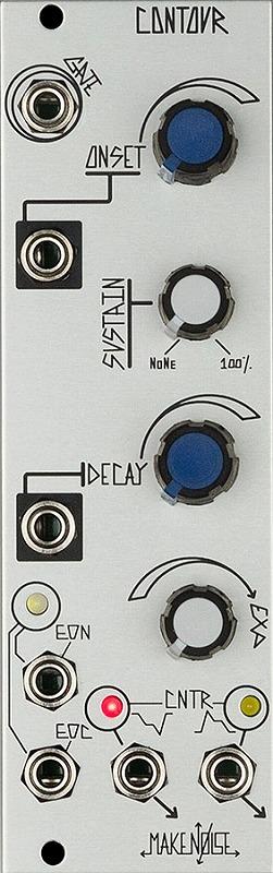 Make Noise メイクノイズ / Contour 4ステージファンクションジェネレーター【お取り寄せ商品】