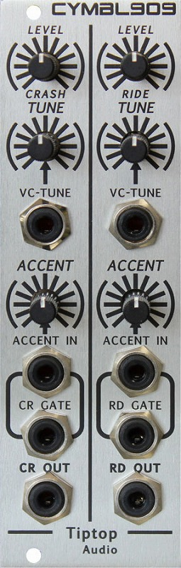 Tiptop Audio / CYMBL909 Cymbals ドラムジェネレーターモジュール【お取り寄せ商品】