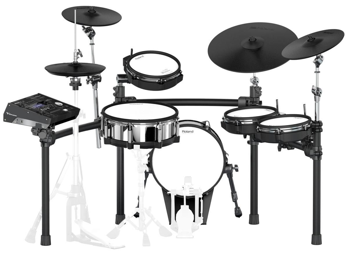 Roland Drum System TD-50K カスタム VH-13ハイハット KD-140-BC MDS-50K セット【YRK】【10000円キャッシュバックWキャンペーン対象商品】