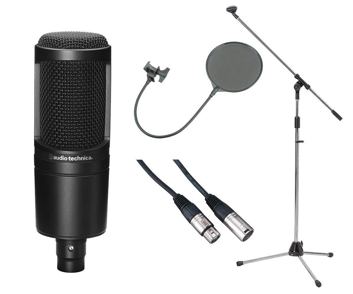 audio-technica / AT2020 【豪華3点セット!】 コンデンサーマイク