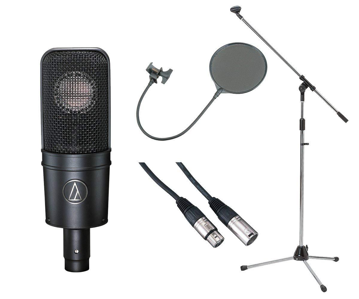 レコーディングの必須アイテムが揃う豪華3点セット audio-technica AT4040 コンデンサーマイク 豪華3点セット 新商品 新作アイテム毎日更新