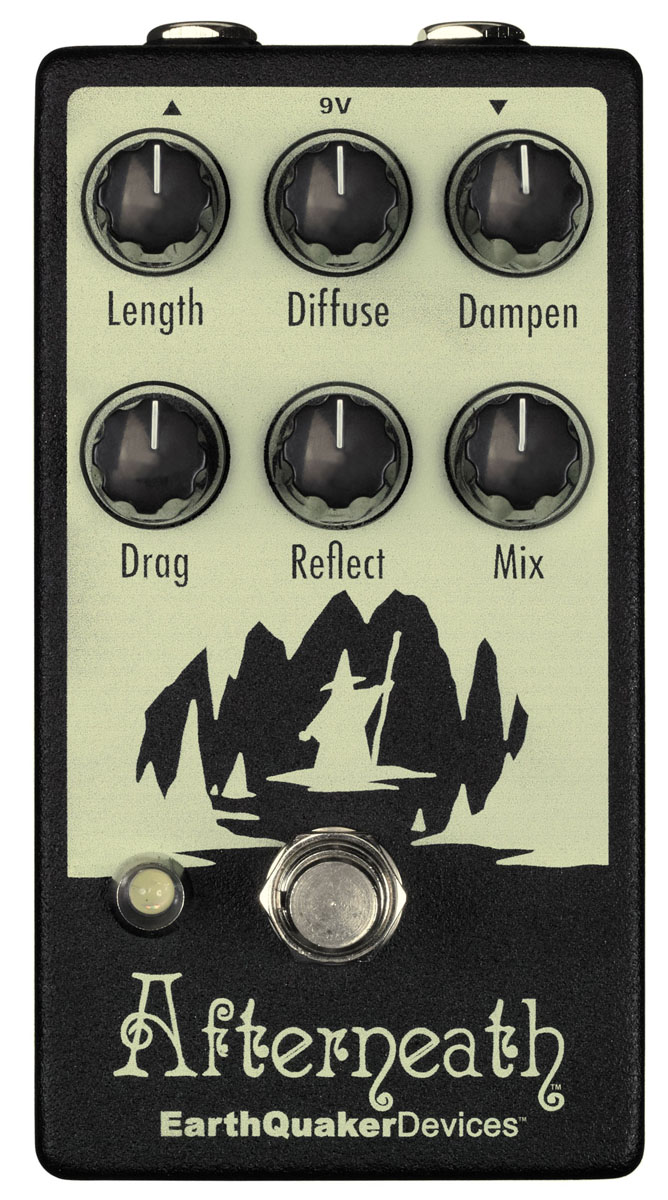 EarthQuaker Devices / Afterneath リバーブ