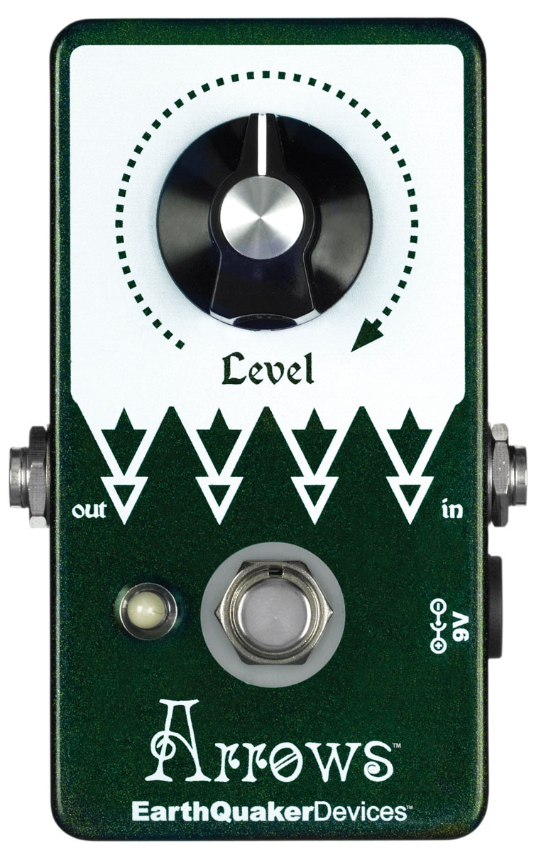 EarthQuaker Devices / Arrows プリアンプ ブースター